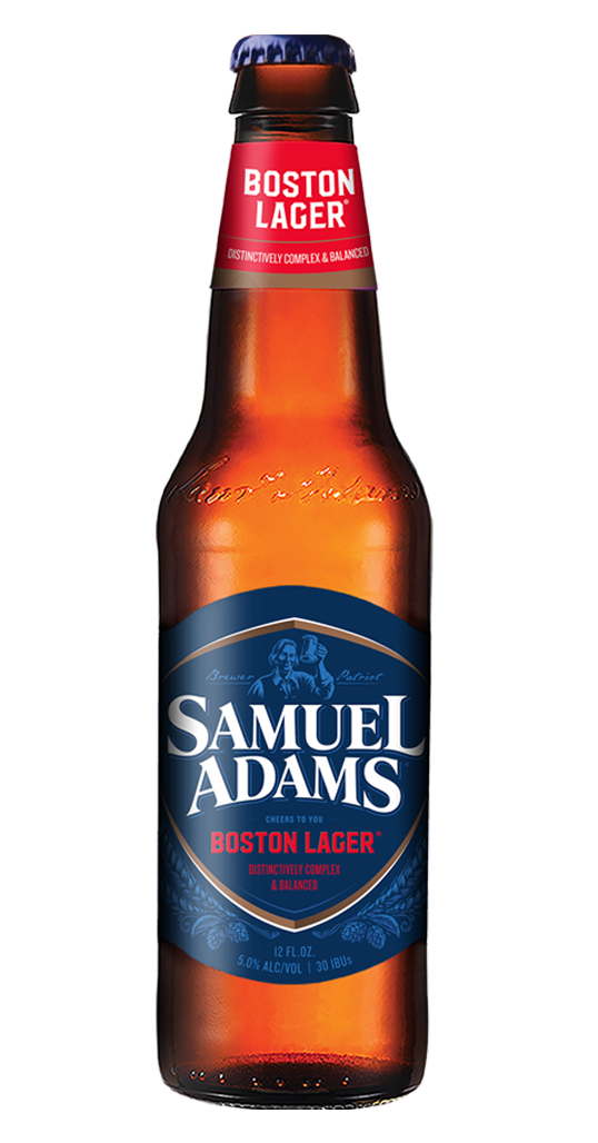 Samuel Adams Boston Lager Bottle 2019