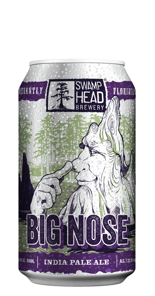 Swamp Head Big Nose Can