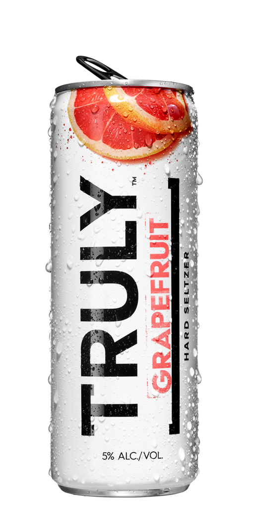 Truly Grapefruit Hard Seltzer
