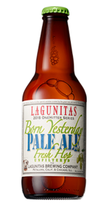 Lagunitas Born Yesterday Wet Hop Pale Ale