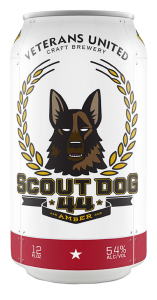Veterans United Brewery Scout Dog Amber Ale