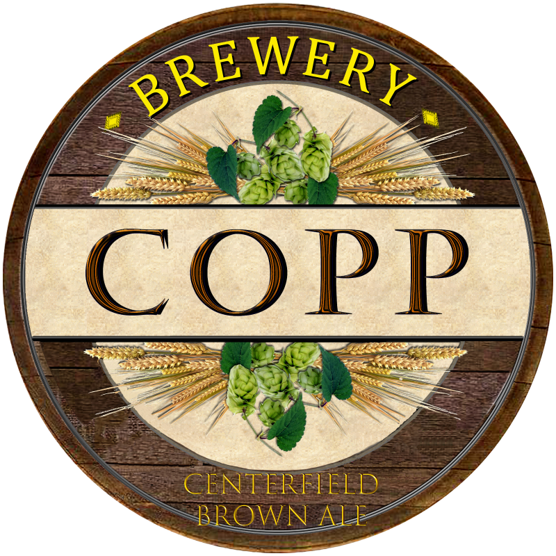 Copp Centerfield Brown Ale