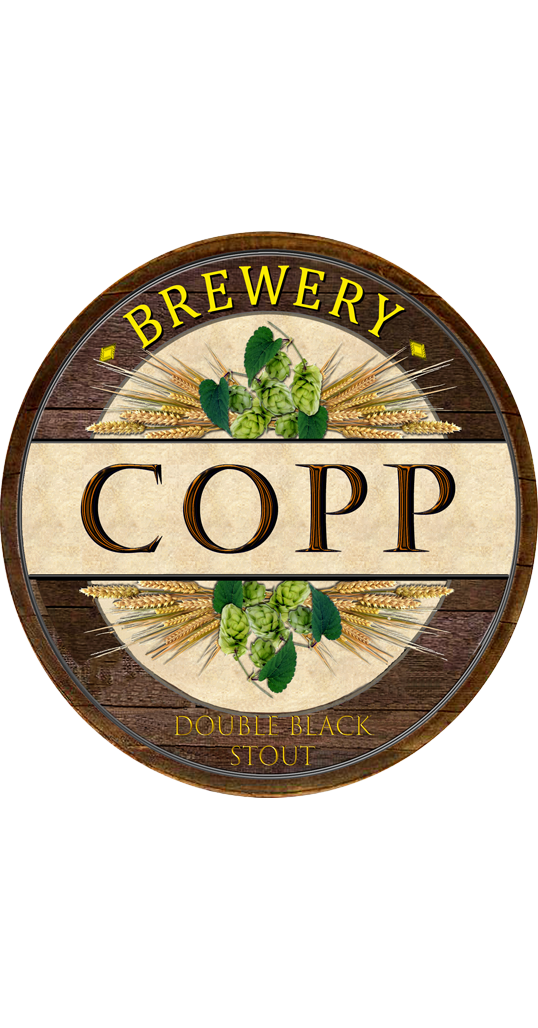 Copp Brewery Double Black Stout