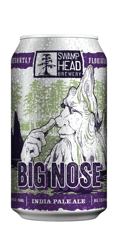 Swamp Head Brewery Big Nose IPA