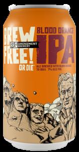 21st Amendment Brew Free! or Die IPA Blood Orange