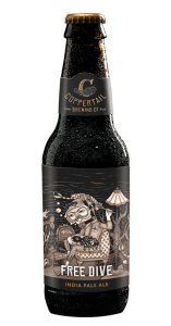 Coppertail Brewing Free Dive IPA Bottle
