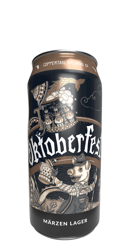 Coppertail Oktoberfest Can