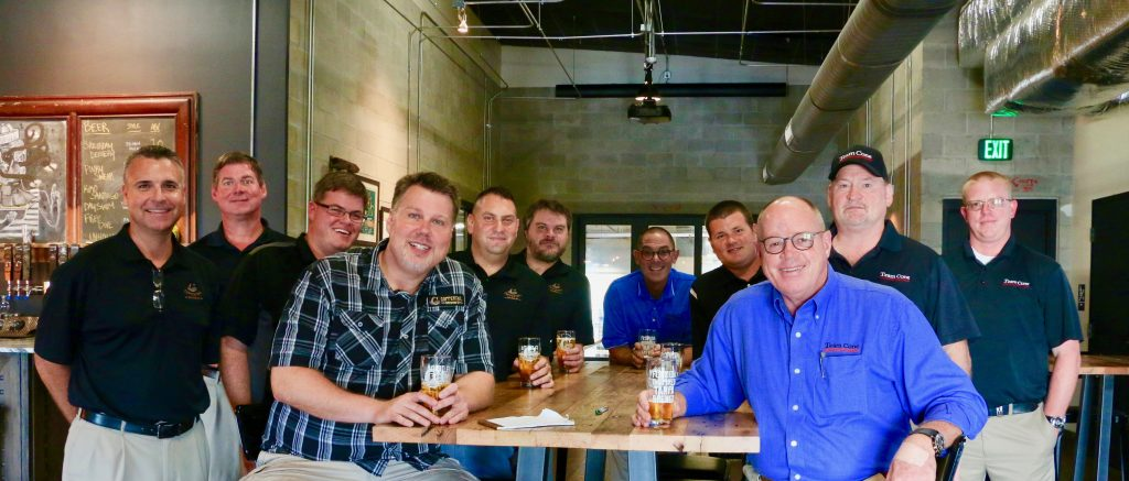 Team Cone and Coppertail Brewing