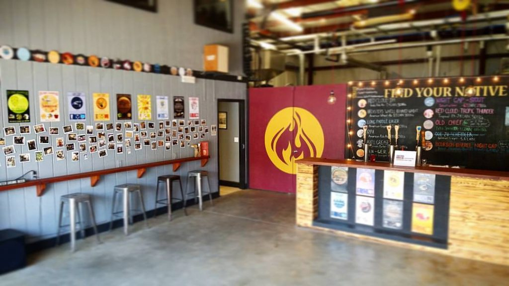 Lake Tribe Brewing Company Tasting Room Interior