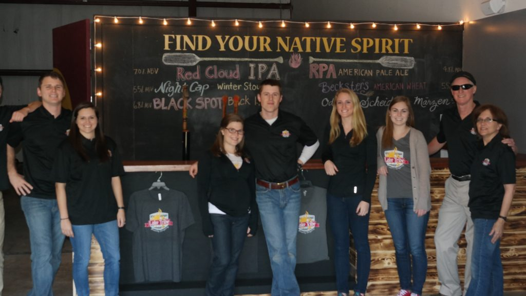 Lake Tribe Brewing Company Staff