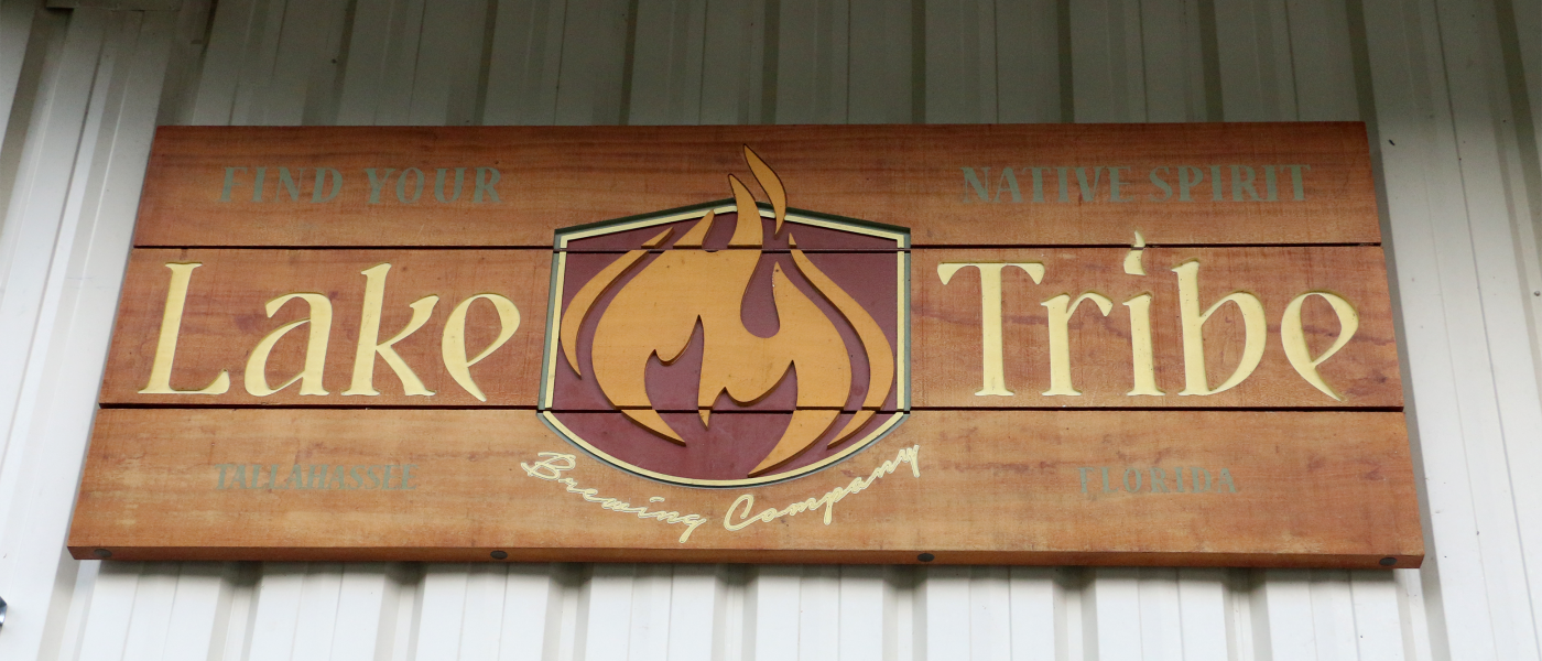 Lake Tribe Brewing Company Ext Signage