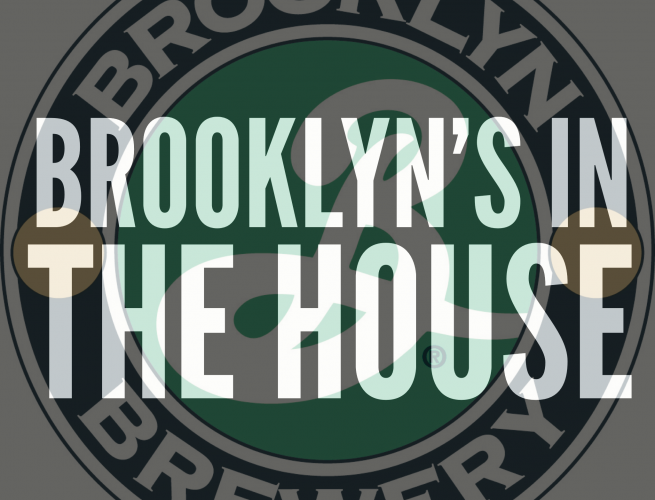 Brooklyn Brewery is in the house