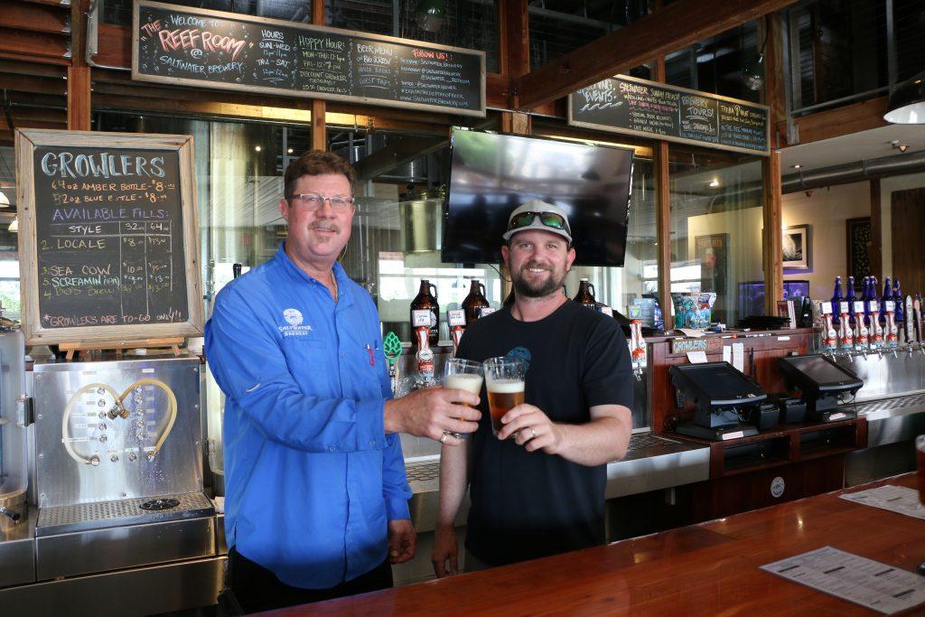 Saltwater Brewery Staff