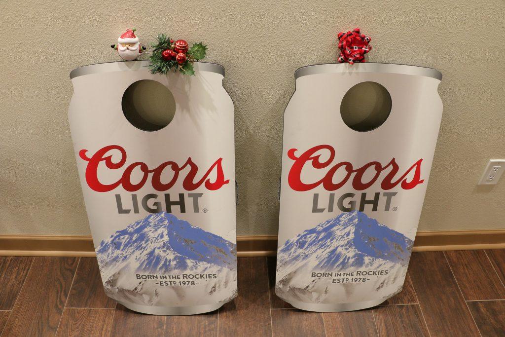 Coors Light Cornhole Boards