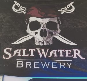Saltwater Brewery Flag