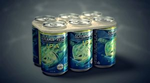 Saltwater Brewery Edible 6-pack rings