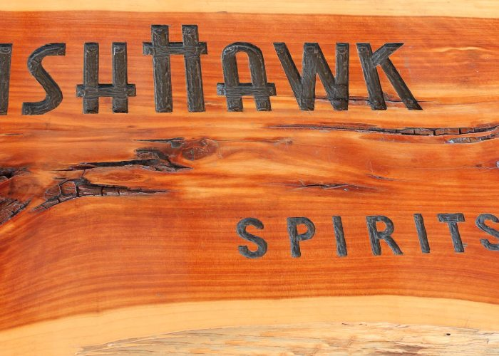Fish Hawk Sign