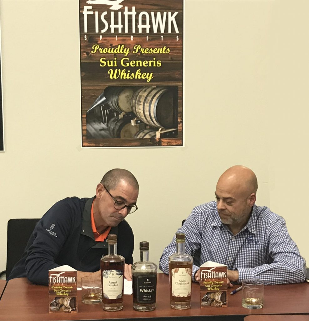 Fish Hawk Spirits Signing