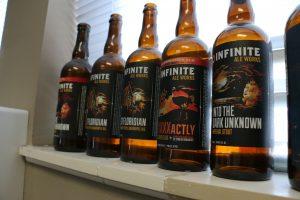 Infinite Ale Works Bottles