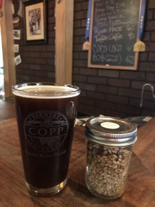 Copp Brewery Grain and Glass