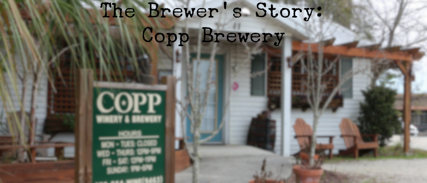 The Brewer's Story Copp Brewery