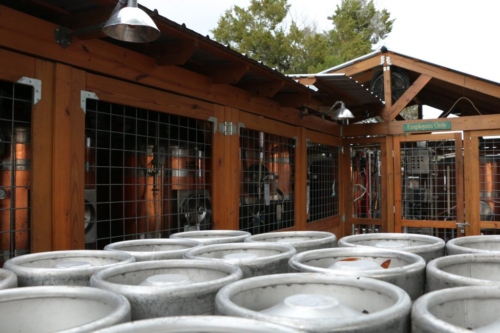 Copp Brewery Exterior Brewing Space