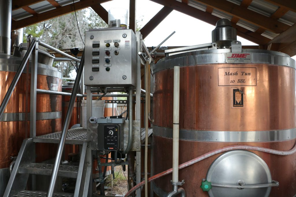 Copp Brewery's Brewing System