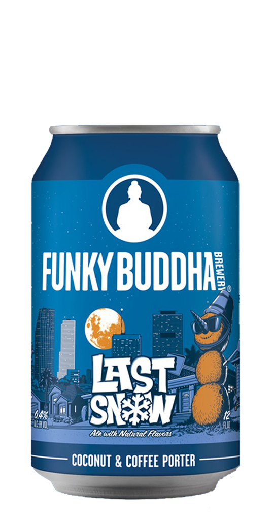 Funky Buddha Brewery Last Snow Coconut Porter Can