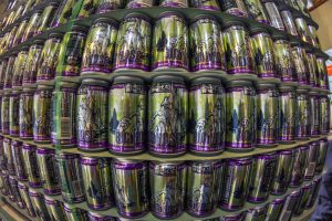 Swamp Head Brewery's Big Nose IPA cans