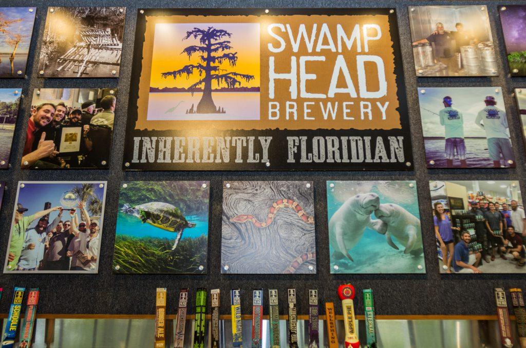 Swamp Head Brewery Wetlands Taps