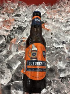 Samuel Adams Oktoberfest on ice