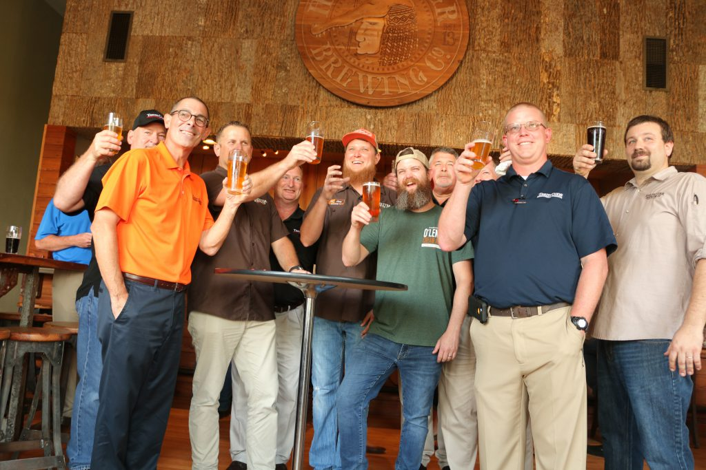 Halpatter Brewing Company proudly signs distribution with Team Cone