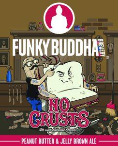 Funky Buddha Brewery No Crusts Brown Ale