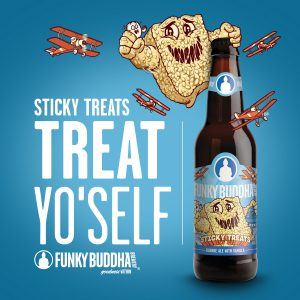 Funky Buddha Brewery Sticky Treats
