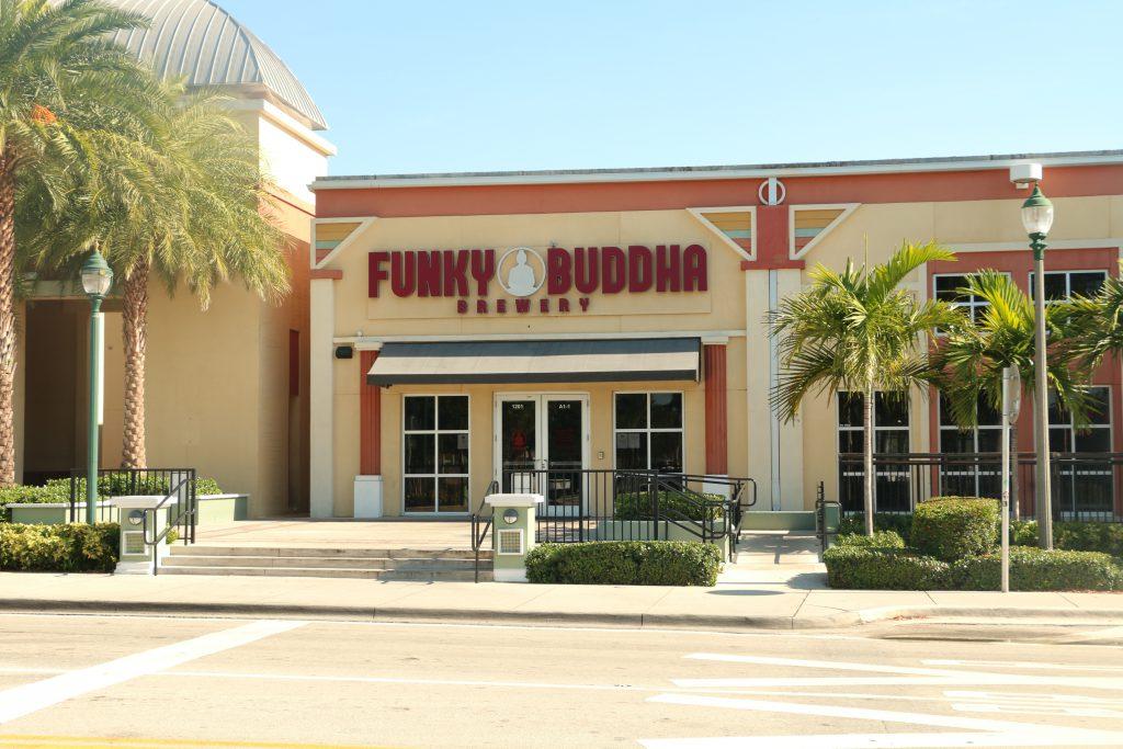 Funky Buddha Brewery Exterior
