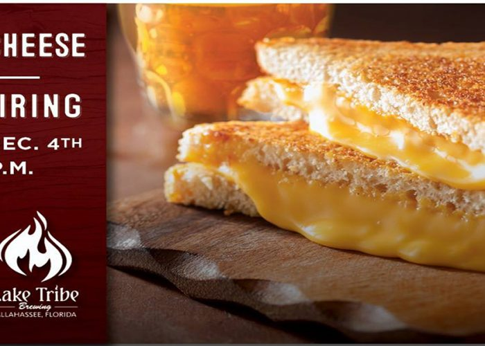Lake Tribe Brewing Grilled Cheese & Beer Pairing