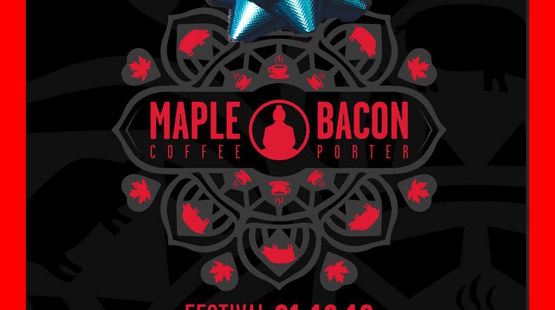Funky Buddha Maple Bacon Coffee Christmas 2018