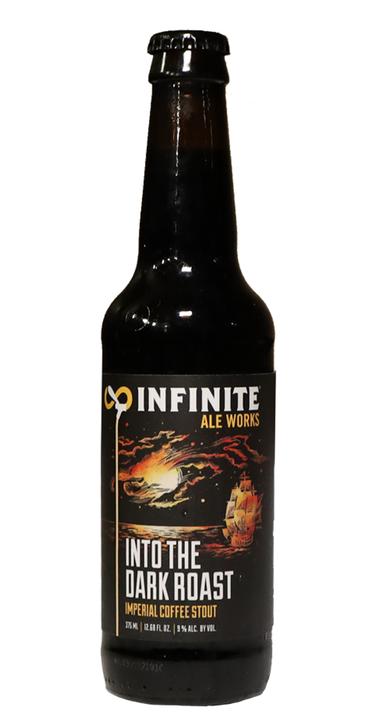Infinite Ale Works Into the Dark Roast Imperial Stout