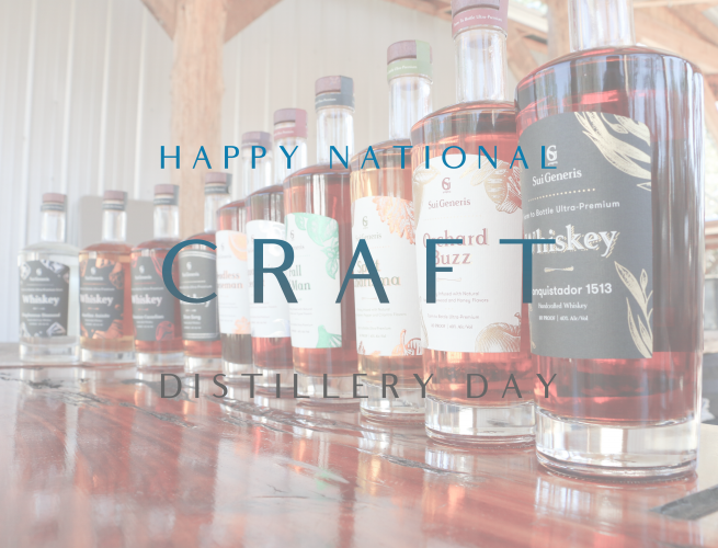 Happy National Craft Distillery Day
