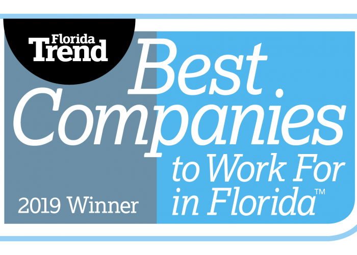 Best Companies to Work For in Florida logo