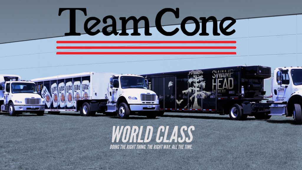 Cone Trucks with Motto