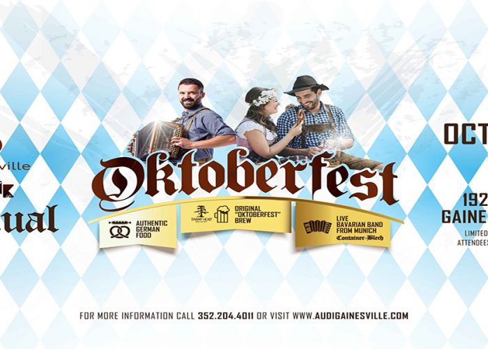 Authentic German Oktoberfest from Audi of Gainesville