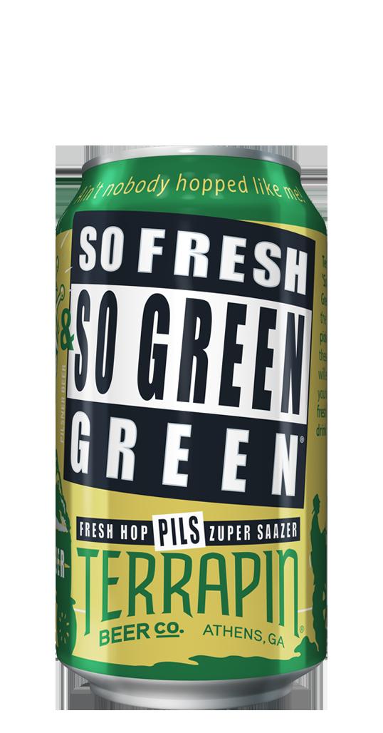 2019 Terrapin Beer So Fresh and So Green Green Wet Hop IPA