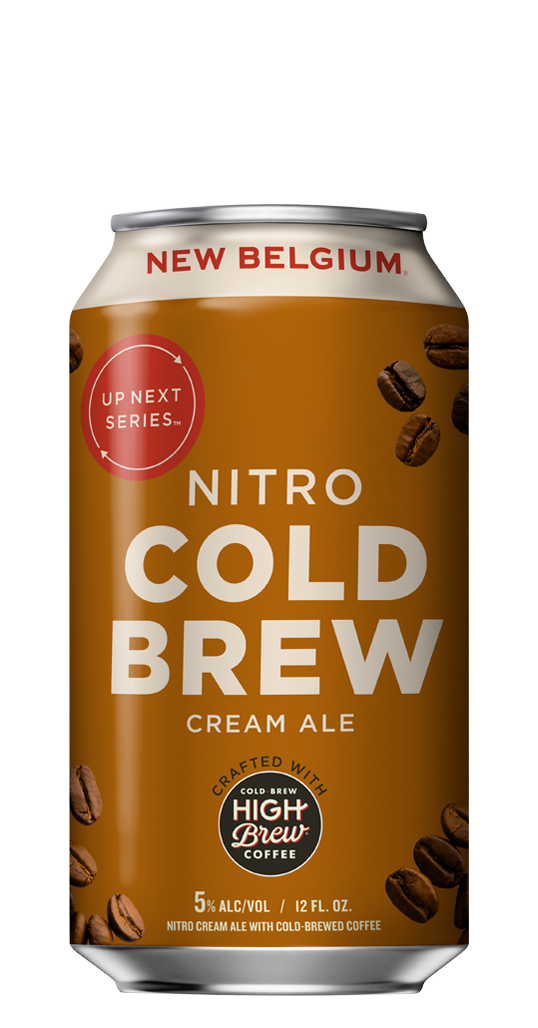 New Belgium Brewing Nitro Cold Brew Cream Ale