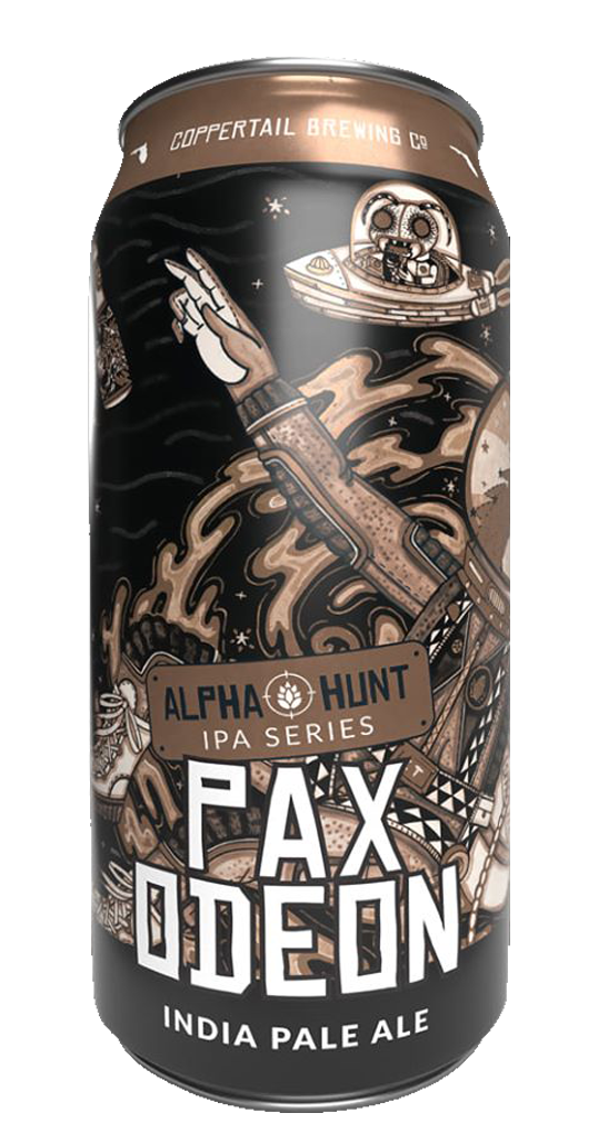Coppertail Brewing Alpha Hunt Series Pax Odeon IPA