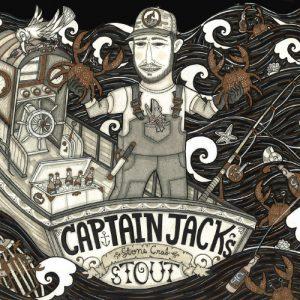 Captain Jack's Stone Crab Stout Label