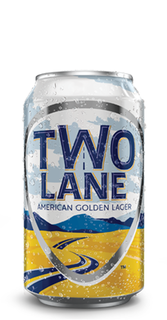 Two Lane American Golden Lager
