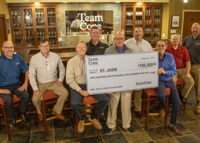 Team Cone Saint Jude 2019