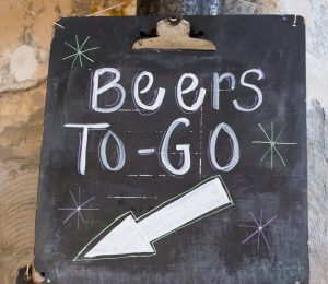Beers To Go Sign