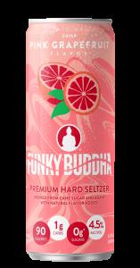 Funky Buddha Premium Seltzer Pink Grapefruit